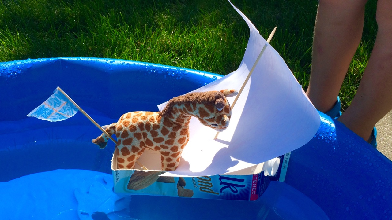 Prototyping a Sailboat: Introducing DESIGN-BASED thinking to young children