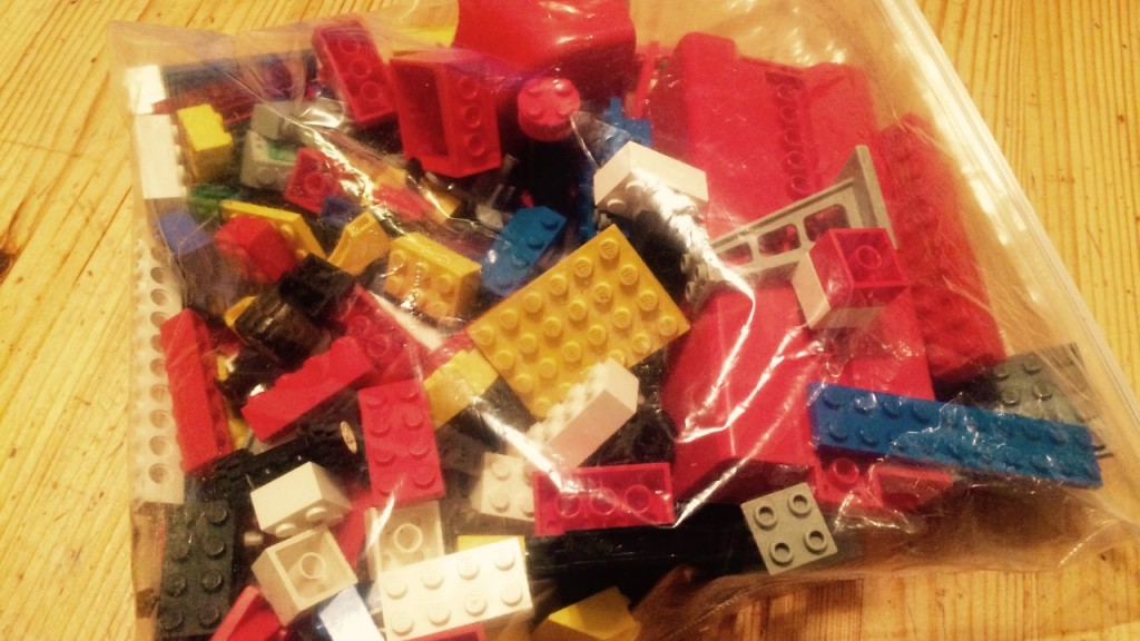 After making a few observations - I feel the best bags of Lego must contain a few flats, wheels, long single row brinks, and a few unusual pieces from the space or fantasy sets!