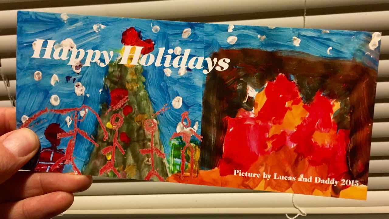 Creativity at Christmas: Making Christmas Cards – My lessons learned