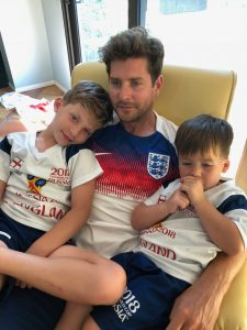 My boys are learning that the Soccer World Cup is a big deal, and I have an expectation that they support England over USA