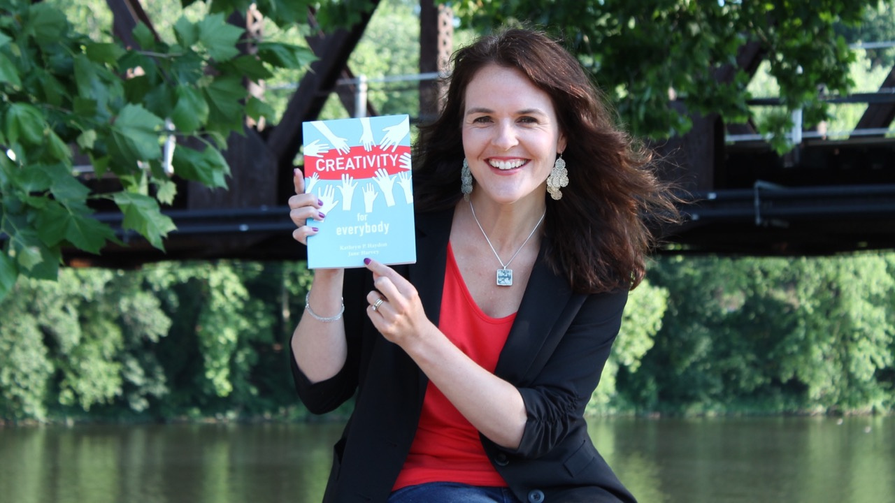 Creativity for Everybody: 3 Question Interview with Creativity Expert, Kathryn Haydon