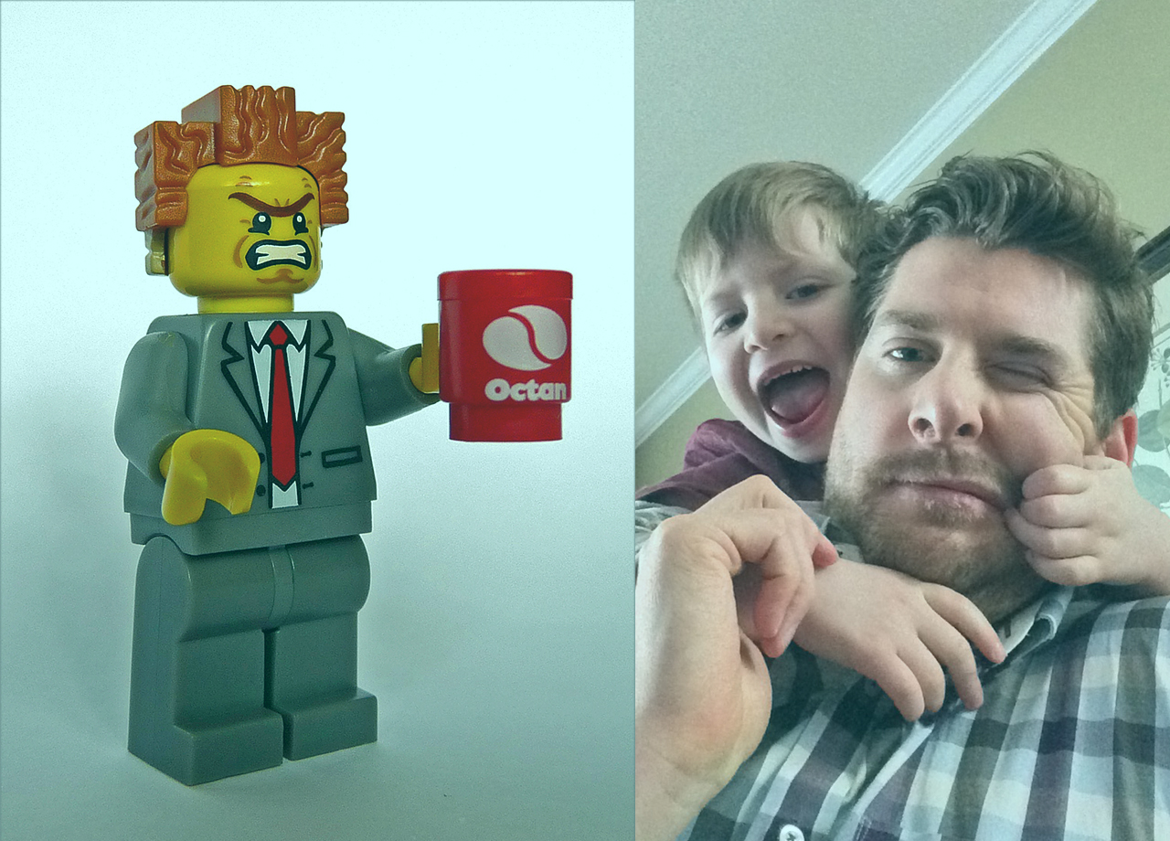 'No Lucas, this Lego doesn't go here': Am I Lord Business from the Lego Movie?