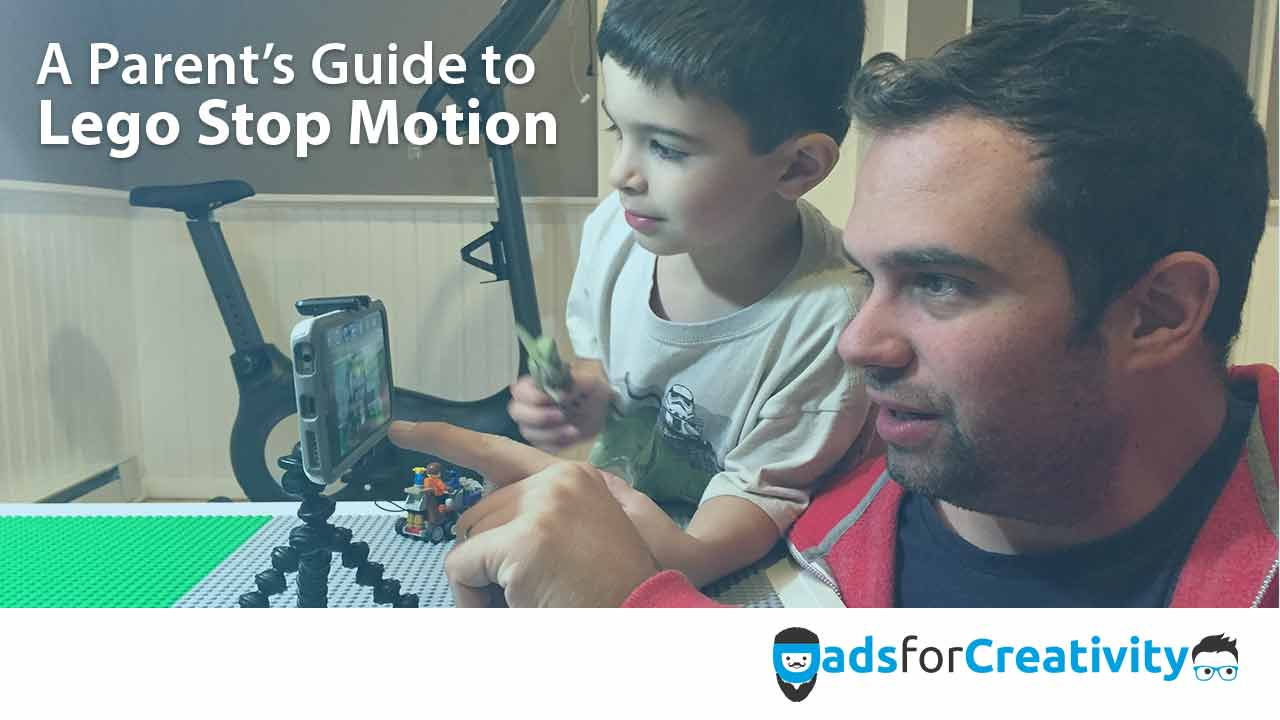 Kid Movie Making Ideas: 3 Question Interview with Daddy STOP MOTION Animator, Dave DiBartolo