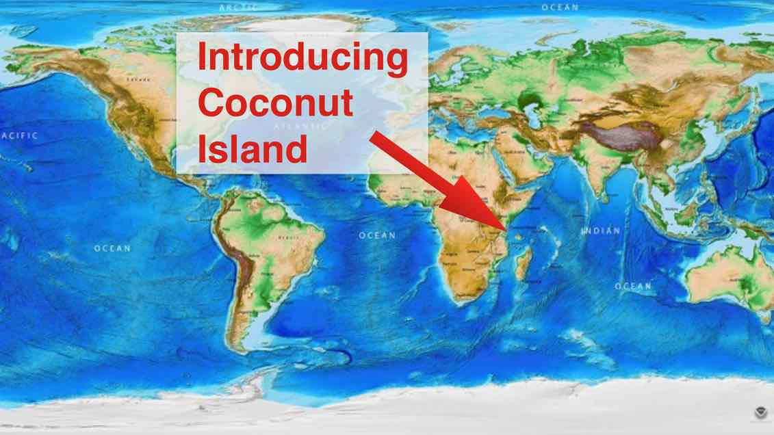 Can a child's imagination go too far? Introducing Coconut Island