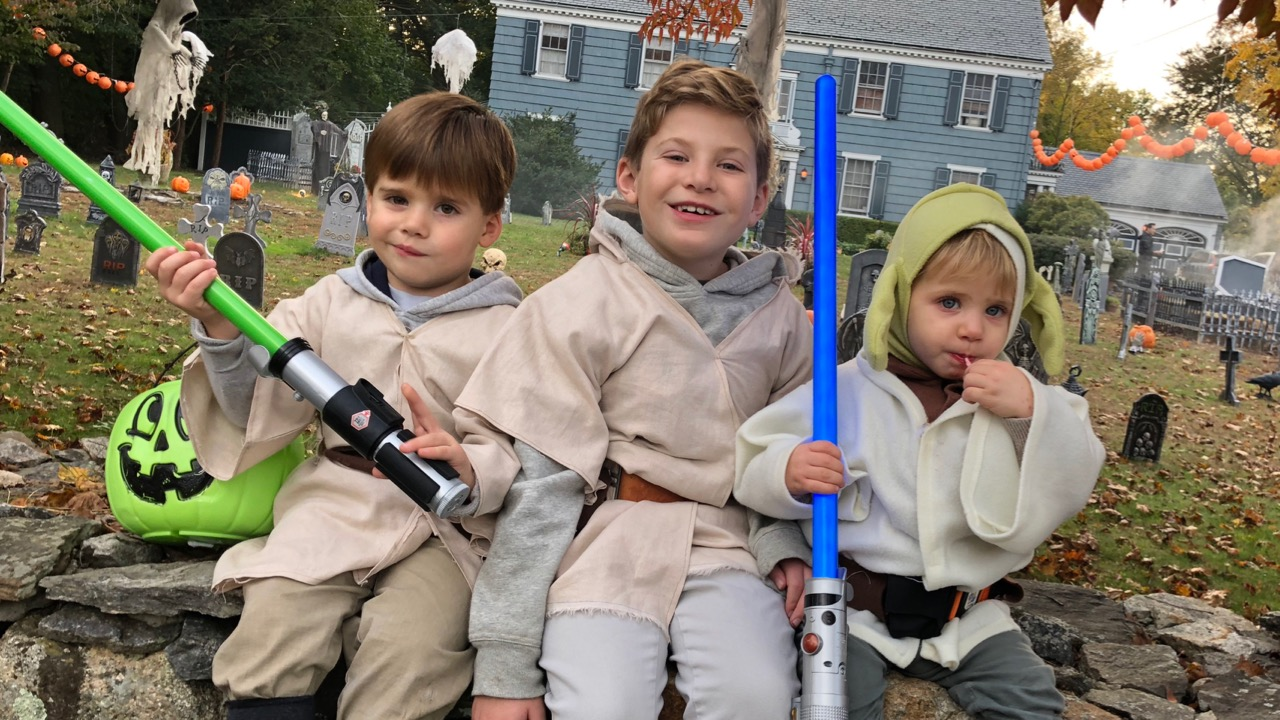 On October 31st we dress up for Halloween, and going trick or treating. I don't spend many time reflecting on the origins of Halloween, its just something I did as a child, and am passing along to my boys.